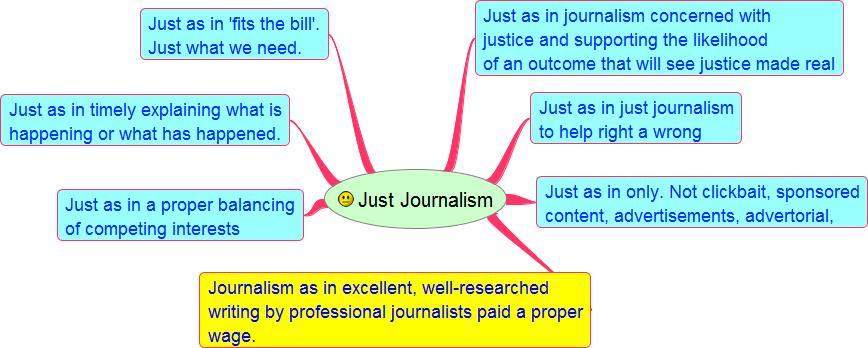 just journalism